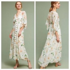 Farm Rio Floral Dahlia Maxi Dress - Anthropologie